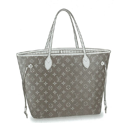 Louis Vuitton Monogram Canvas Neverfull MM bag M40156
