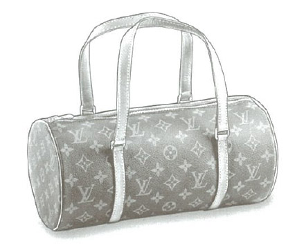 Louis Vuitton Monogram Canvas Papillon bag M51385