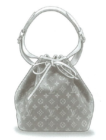 Louis Vuitton Monogram Canvas Petit Noé bag M42226