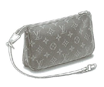 Louis Vuitton Monogram Canvas Pochette accessoires bag (Accessories pouch) M51980