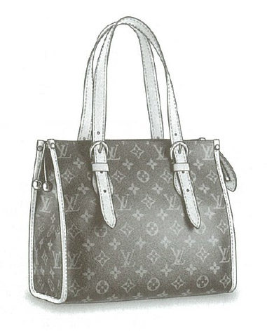 Louis Vuitton Monogram Canvas Popincourt Haut bag M40007