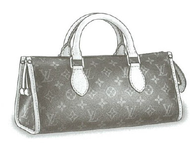 Louis Vuitton Monogram Canvas Popincourt bag M40009