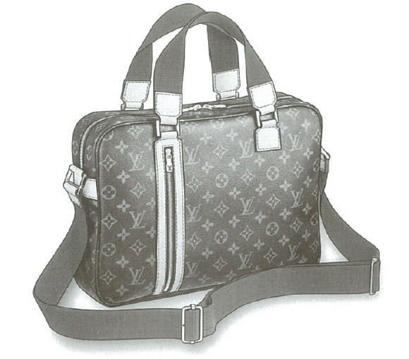 Louis Vuitton Monogram Canvas Sac Bosphore bag M40043