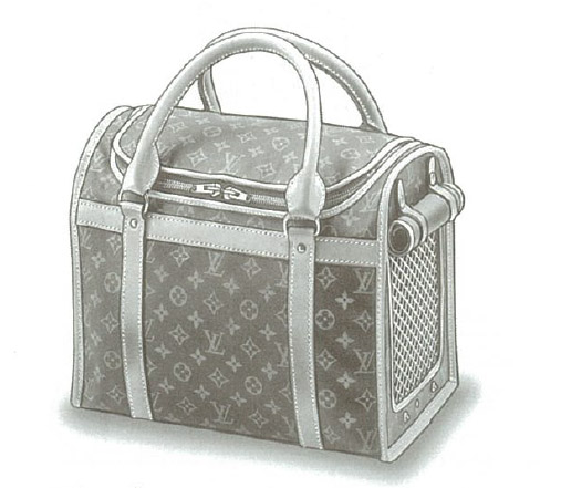 Louis Vuitton Monogram Canvas Sac Chien M42021, M42024