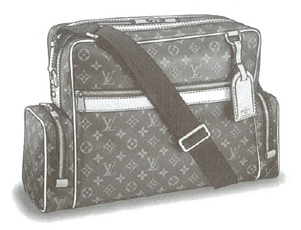 Louis Vuitton Monogram Canvas Sac squash (Squash Bag) M92967