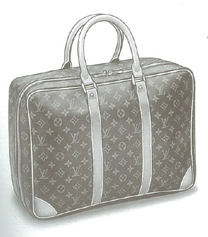 Louis Vuitton Monogram Canvas Sirius bag (Valise souple - Soft case) M41400, M41404, M41408