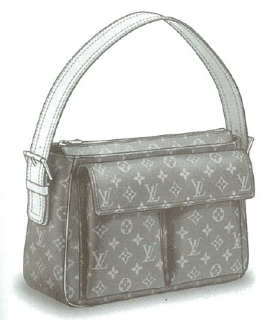 Louis Vuitton Monogram Canvas Viva-cité GM bag M51163