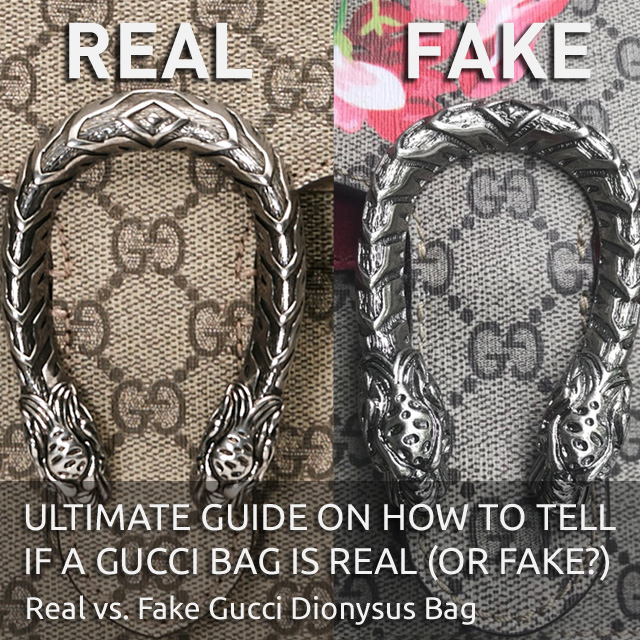 "Real vs Fake Gucci Dionysus Bag - ""Authentic Gucci Bag"" - Ultimate Guide on How to Tell if a Gucci Bag is Real or Fake - Bagaholic 101"