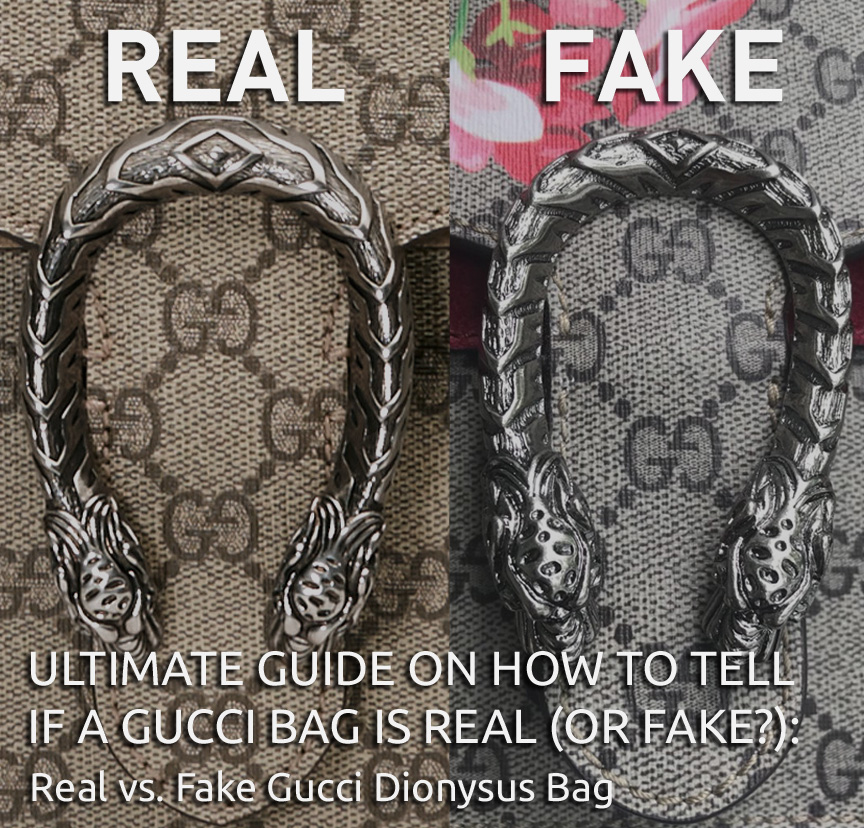 Real vs Fake Gucci Dionysus Bag - Ultimate Guide on How to Tell if a Gucci Bag is Real or Fake - Bagaholic 101