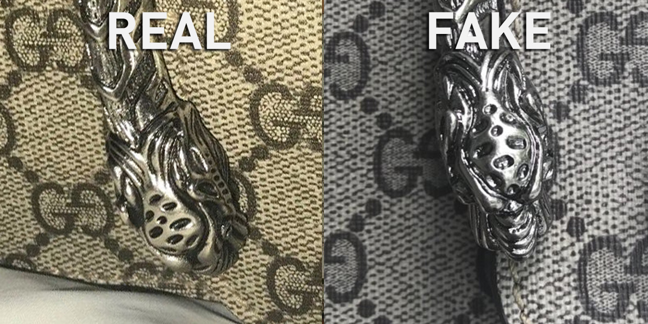 ee174ee5913 Ultimate Real vs. Fake Gucci Bag Guide - Case Study: Comparing a ...