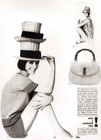 1970s vintage Gucci advertisement from Harper's Bazaar - Vintage Gucci advertising campaigns archive