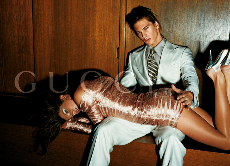 2003 Gucci Spring Summer 2003 ad campaign which, among others, generated substantial controversy