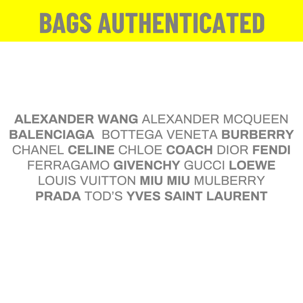 BAGAHOLIC101 - Gucci Authentication Services - Bags Authenticated Alexander Wang Alexander McQueen Bottega Veneta Burberry Chanel Celine Chloe Coach Dior Fendi Ferragamo Givenchy Gucci Loewe Louis Vuitton Miu Miu Mulberry Prada Tods YSL